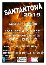 Santantoná 2019 do Centro Galego de Castelló