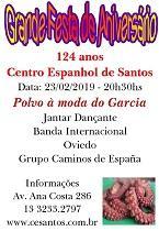 124º aniversario do Centro Espanhol de Santos