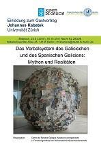 """Charla """"Galego e castelán en Galicia: mitos e realidades sobre o sistema verbal"""", na Freie Universität Berlin"""