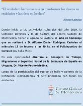 Homenaje a Castelao 2019 del Centro Gallego de Montevideo