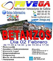 Oficina informativa móbil de FEVEGA e APEJUVEG, en Betanzos