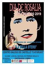 Día de Rosalía 2019, no Centro Galego de Castelló