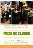 Actividades de folclore galego 2019 da Sociedad Parroquial de Vedra en Bos Aires