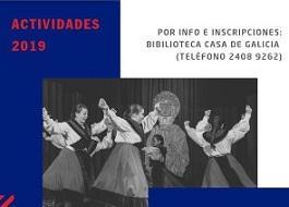 Actividades 2019 da Casa de Galicia de Montevideo