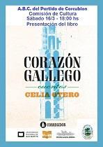 """Presentación do libro """"Corazón gallego"""", na A.B.C. do Partido de Corcubión en Bos Aires"""