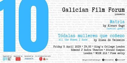 'Matria' & 'Tódalas mulleres que coñezo', en la 10ª edición del Galician Film Forum de Londres