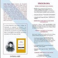 Semana Cultural das Letras Galegas 2019 en Santander