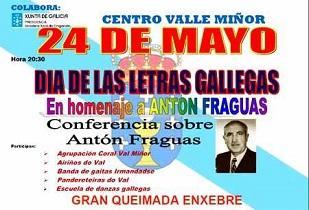 Día das Letras Galegas 2019, en el Valle Miñor de Montevideo