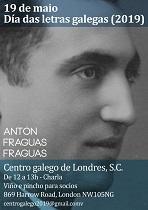 Día das Letras Galegas 2019, no Centro Galego de Londres