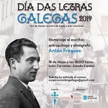 Día das Letras Galegas 2019, en Santiago de Chile