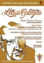 Día das Letras Galegas 2019, en Rosario