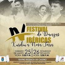 IVº Festival de Danzas Ibéricas 'Xurdiu a Nosa Terra', en Caracas