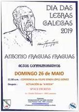 Día das Letras Galegas 2019, en Lausanne