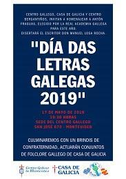 Día das Letras Galegas 2019, en Montevideo