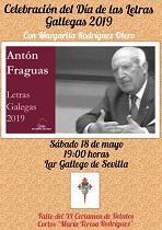 Día das Letras Galegas 2019, en Sevilla