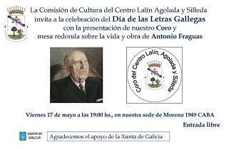 Día das Letras Galegas 2019, no Centro Lalín, Agolada e Silleda de Bos Aires
