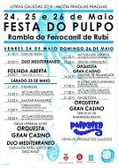 Festa do Polbo 2019 da Irmandade Galega de Rubí
