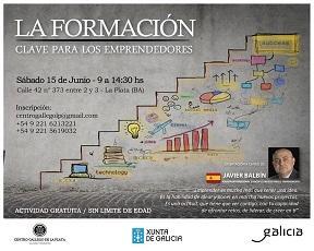 Curso 'La formación: clave para los emprendedores', en La Plata
