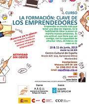Curso 'La formación: clave de los emprendedores', en Montevideo