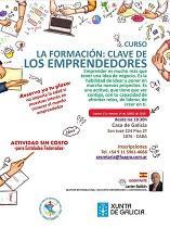 Curso 'La formación: clave de los emprendedores', en Bos Aires