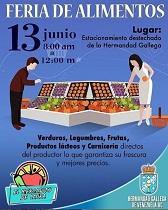 Feria de alimentos, en la Hermandad Gallega de Venezuela en Caracas