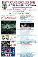 Festa galega 2019 da A.C.G. Rosalía de Castro de Cornellà