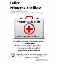 Taller de primeiros auxilios, en Santiago de Compostela