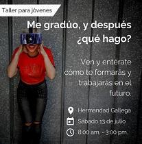 """Taller """"Me gradúo, y después ¿qué hago?"""", en Caracas"""