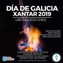 Día de Galicia 2019, en Santiago de Chile