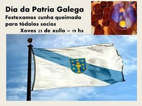Día da Patria Galega 2019, no Patronato da Cultura Galega de Montevideo