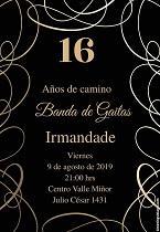 16º aniversario da Banda de Gaitas Irmandade, en Montevideo