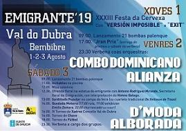Festa do/a emigrante 2019 en Val do Dubra