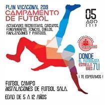 Plan Vacacional 2019 - Campamento de fútbol, no Centro Galego de Maracaibo