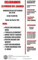 Festa da Virxe do Carme 2019 da A.C.G. Fillos do Porto do Son de Avellaneda