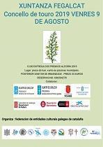 Entrega dos Premios 'Alecrín 2019' da Federación de Entidades Culturais Galegas en Cataluña (FEGALCAT), en Touro