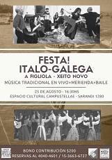 Festa Italo-Galega, en Bos Aires