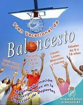 Plan vacacional de baloncesto de la Hermandad Gallega de Venezuela