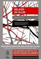 Presentación do libro 'Relatos da Ulloa', no Centro Galego de Londres