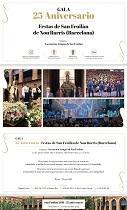 Gala 25º Aniversario das Festas de San Froilán Nou Barris (Barcelona)