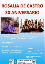 30º aniversario da Asociación 'Rosalía de Castro' de Berna