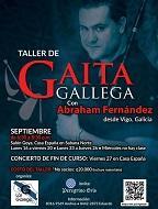 Curso de gaita galega 2019, en Costa Rica