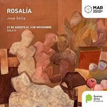 Exposición 'Rosalía', de José Solla, no MAR Museo de Mar del Plata