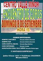 Encontro de coros 2019 do Val Miñor de Montevideo