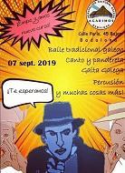 Clases de folclore gallego 2019-2020 de la A.C.G. Agarimos de Badalona