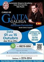 Obradoiro de gaita galega, en São Paulo