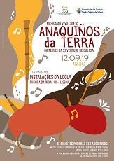 Concerto do grupo Anaquiños da Terra, en Lisboa