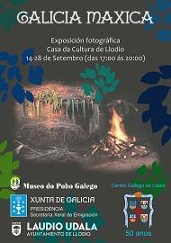 Exposición 'Galicia Máxica', en Llodio
