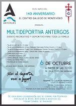 Feira deportiva e recreativa 'Antergos', no Centro Galego de Montevideo