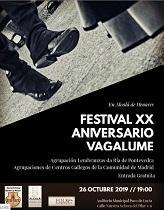 Festival XXº aniversario del Grupo folclórico 'Vagalume' de la Asociación Galega Corredor do Henares