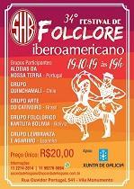 34º Festival de Folclore Iberoamericano, en São Paulo